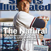The Natural Atlanta Rookie Jeff Francoeur Is Off To An Sports Illustrated Cover Art Print