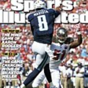 The New Qb Marcus Mariota And His Historic Opening Statement Sports Illustrated Cover Art Print