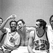 The New York Knicks Starting Five -- Art Print
