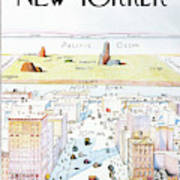 The New Yorker - March 29, 1976 Art Print