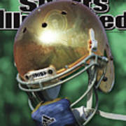 The Notre Dame Miracle Sports Illustrated Cover Art Print
