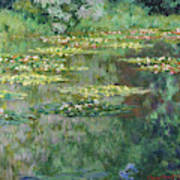 The Nympheas Basin - Digital Remastered Edition Art Print