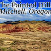 The Painted Hills Mitchell Oregon 02 Art Print