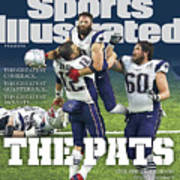 The Pats Super Bowl Li Champs Sports Illustrated Cover Art Print
