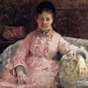 The Pink Dress Also Known As Poop - 1870 - Pc Art Print