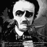 The Raven Edgar Allan Poe Art Print