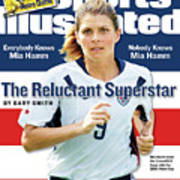 The Reluctant Superstar Everybody Knows Mia Hamm, Nobody Sports Illustrated Cover Art Print