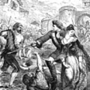 The Rescue Of The Duchess Of Popoli Art Print