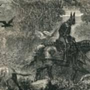 The Return Of Warbeck, C1910 Art Print