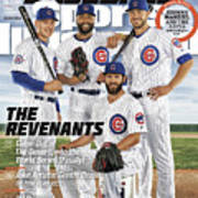 The Revenants, 2016 Mlb Baseball Preview Issue Sports Illustrated Cover Art Print