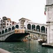 The Rialto Bridge  Art Print