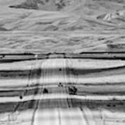 The Road From Casper Art Print