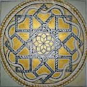 The Roman Mandala At Tomis Art Print