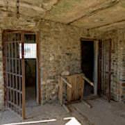 The Stone Jailhouse Interior Art Print