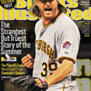 The Strangest But Truest Story Of The Summer Baseball 2013 Sports Illustrated Cover Art Print