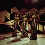 The Supremes Perfom On Tv Show Art Print