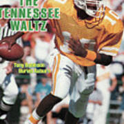 The Tennessee Waltz Tony Robinson Buries Auburn Sports Illustrated Cover Art Print