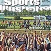 The Triple Crown All American Pharoah Sports Illustrated Cover Art Print