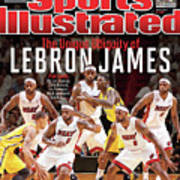 The Unique Ubiquity Of LeBron James Sports Illustrated Cover Art Print