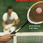 The Universal Appeal Of Tennis Better Net Play By Bill Sports Illustrated Cover Art Print
