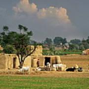 The Village Of Punjab Art Print