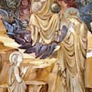 The Vision Of Saint Catherine Art Print