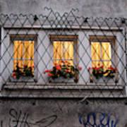 The Windows Of Sofia Art Print