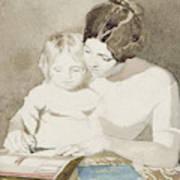 The Writing Lesson Art Print