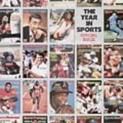 The Year In Sports Issue... Sports Illustrated Cover Art Print