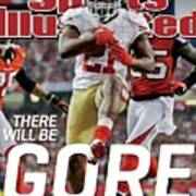There Will Be Gore Super Bowl Xlvii Preview Issue Sports Illustrated Cover Art Print