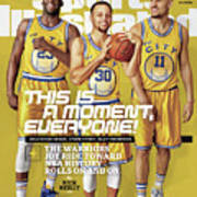 This Is A Moment, Everyone The Warriors Joy Ride Toward Nba Sports Illustrated Cover Art Print