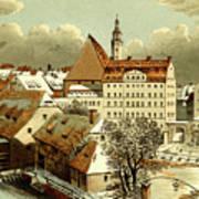 Thomasschule In Leipzig Art Print