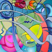 Thought Patterns #2 Art Print