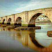 Three Bridges. Art Print