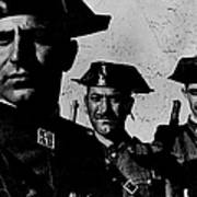 Three Members Of Dictator Francos Feare Art Print