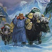 Tibet Art Print