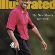 Tiger Woods, 1997 Masters Sports Illustrated Cover Art Print