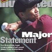 Tiger Woods, 1999 Pga Championship Sports Illustrated Cover Art Print