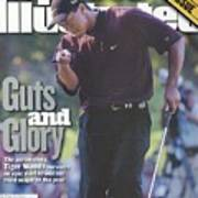 Tiger Woods, 2000 Pga Championship Sports Illustrated Cover Art Print