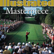 Tiger Woods, 2001 Masters Sports Illustrated Cover Art Print