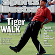 Tiger Woods, 2002 Masters Sports Illustrated Cover Art Print