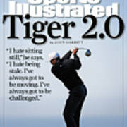 Tiger Woods, 2007 Buick Invitational Practice Round Sports Illustrated Cover Art Print