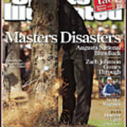 Tiger Woods, 2007 Masters Sports Illustrated Cover Art Print