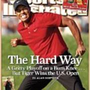 Tiger Woods, 2008 Us Open Sports Illustrated Cover Art Print