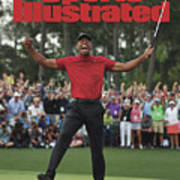 Tiger Woods, 2019 Masters Tournament Champion Sports Illustrated Cover Art Print