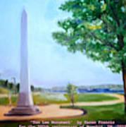 Tom Lee Monument Anniversary Print Art Print