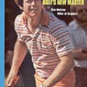 Tom Watson, 1977 Masters Sports Illustrated Cover Art Print