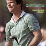 Tom Watson, 1981 Masters Sports Illustrated Cover Art Print