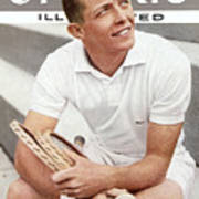 Tony Trabert, Tennis Sports Illustrated Cover Art Print