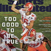 Too Good To Be True Trevor Lawrence Killed It As A Sports Illustrated Cover Art Print